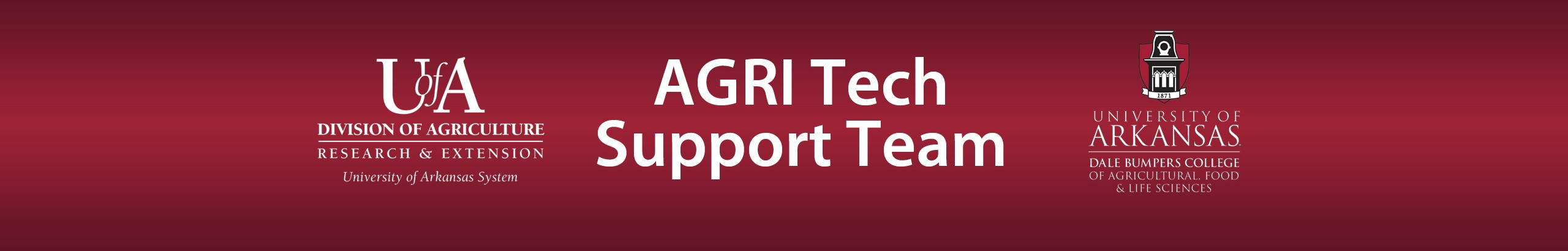 AGRITech: AES AFLS TECHNOLOGY SUPPORT TEAM